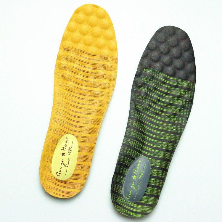 【贵足】高档鞋垫加厚除臭鞋垫男士休闲皮鞋垫按摩乳胶鞋垫定做标