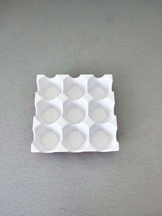 美耐皿双色9格蛋托冰箱鸡蛋格家庭实用家居品