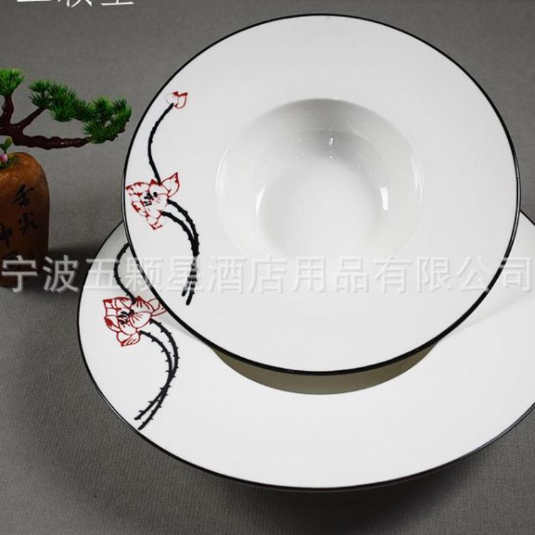 酒店用品创意陶瓷餐具 多系列支持批发定制