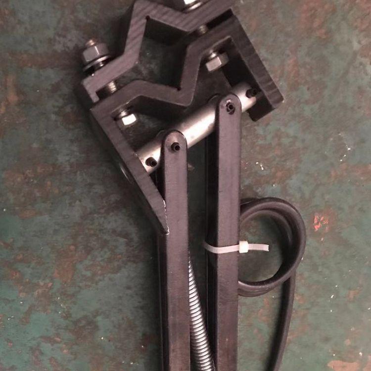 宇华厂家直销批发起重机专用加大集电器架单级滑触线重型集电器