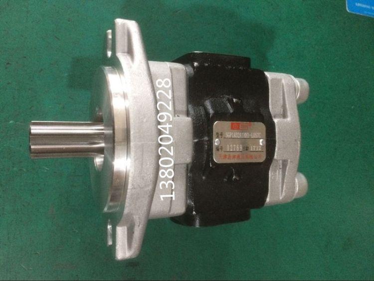 天津岛津液压齿轮泵SGP1A32A1HH1-L057C 液压油泵 叉车挖掘机油泵