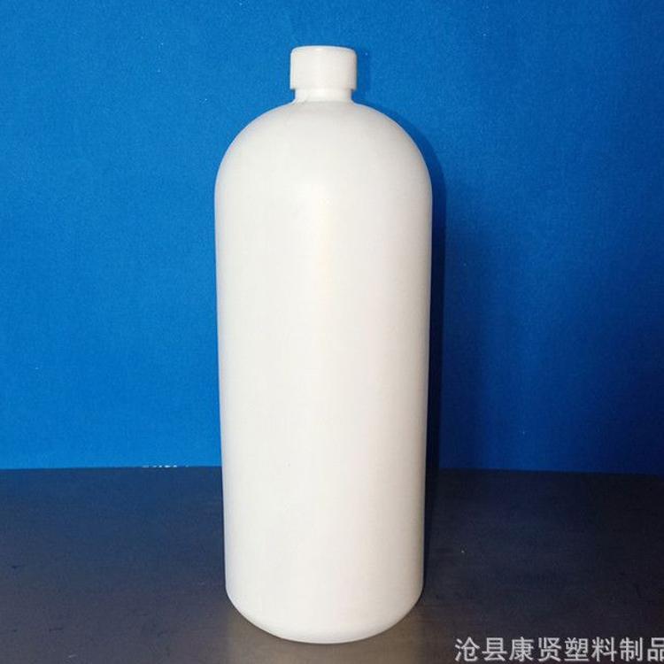 小口塑料瓶 HDPE塑料瓶 2000ml小口试剂瓶 水样瓶现货批发