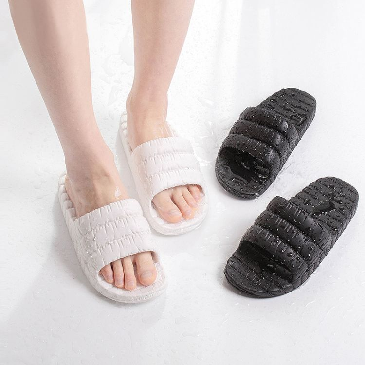 清仓 量大询价客服 2018新款拖鞋 家居浴室拖鞋简约防滑橡塑凉拖