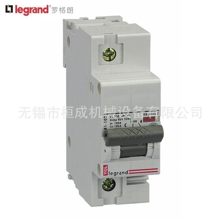 罗格朗TLB1-100小型断路器空气开关低压电气 断路器 漏电保护器