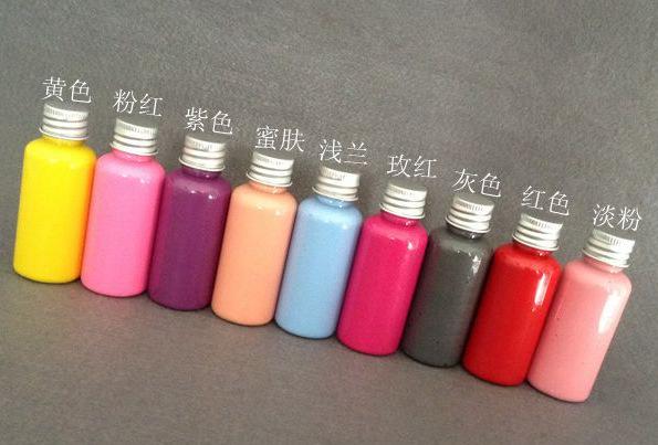 香薰石膏上色 DIY染色颜料 彩色石膏色素 车载扩香石手工染色涂料