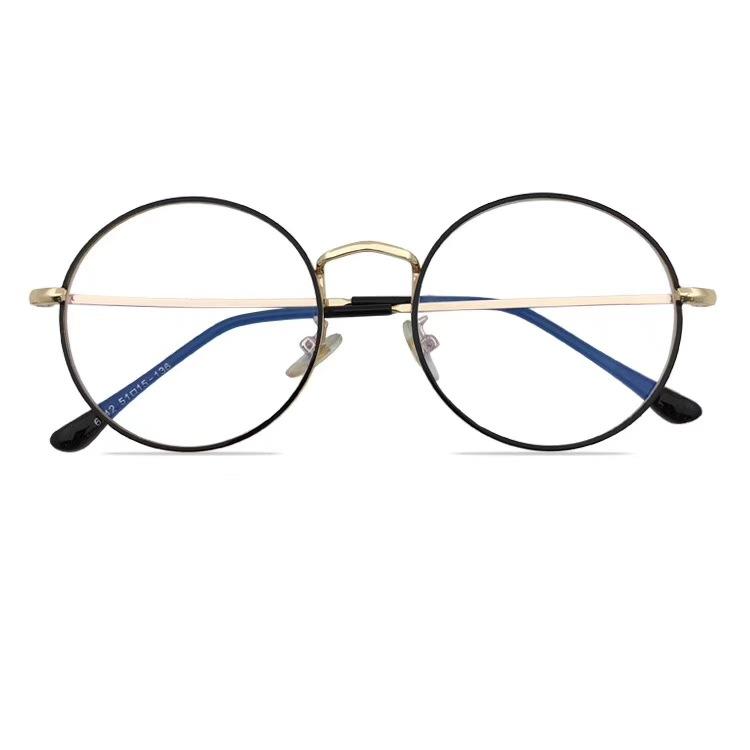 圆框眼镜男款眼镜框女近视平光复古全框眼镜架镜框大框小脸超轻潮