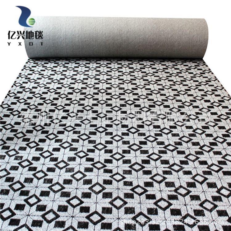 现货供应 走廊 客厅提花地毯 多种颜色可定制 长方形提花地毯