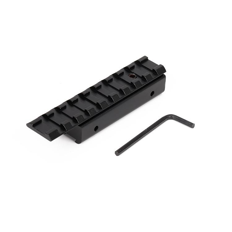 ebay Amazon热销11mm转20mm增高导轨 窄变宽后延支架水弹玩具配件