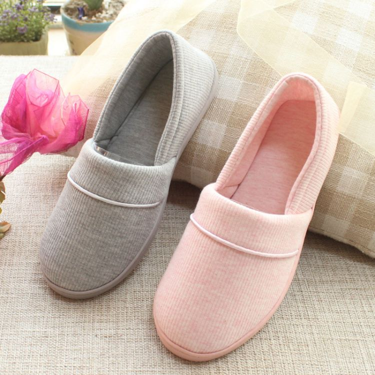 跨境月子鞋春夏秋季包跟软底产妇鞋孕妇产后鞋防水防滑小单鞋