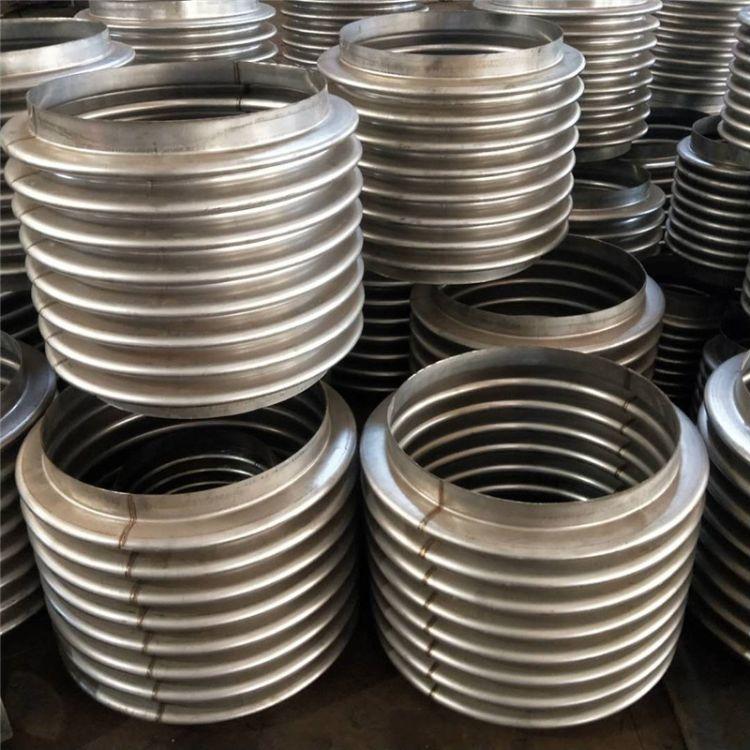 304不锈钢波纹补偿器 法兰金属膨胀节 通用型 蒸汽管道补偿器厂家
