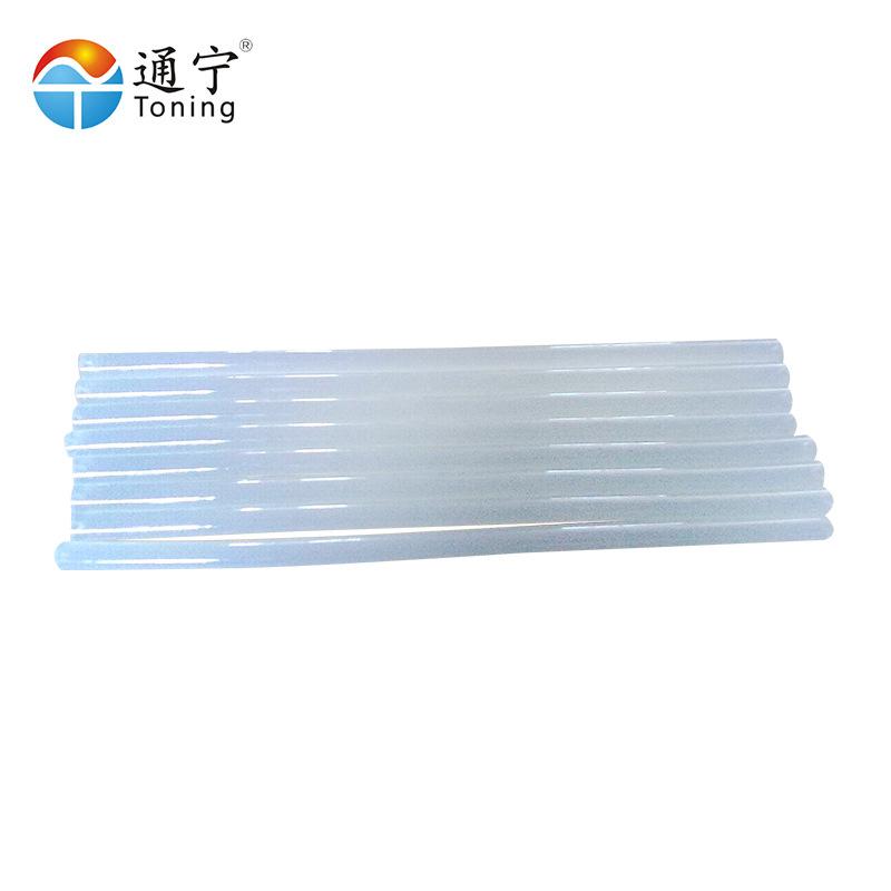 热熔胶条 厂家直销热熔胶棒透明半透明环保高强度高粘接力热熔胶