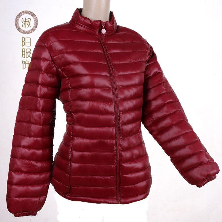2018 女士冬季棉衣棉服 中老年超轻棉袄加厚大码保暖棉衣棉袄