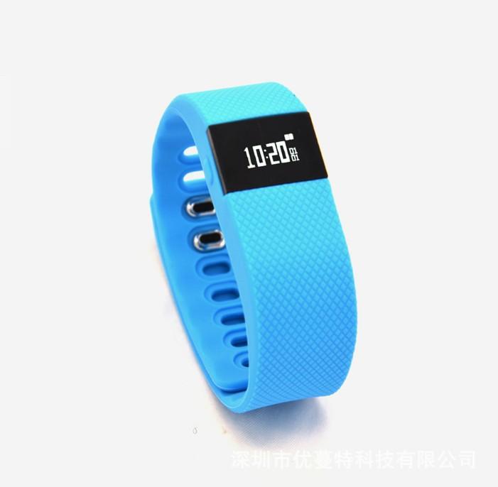 爆款 礼品硅胶手环 健康运动手环 TW64智能手环 源头工厂批发
