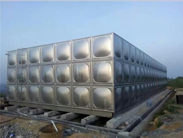 上海宸速水箱 不锈钢水箱 消防水箱 304保温水箱 泵箱一体化现场
