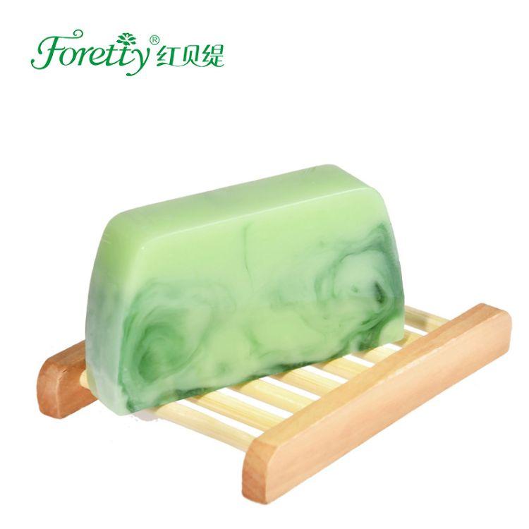 红贝缇抹茶手工皂深层清洁保湿洁面皂正品厂家直供