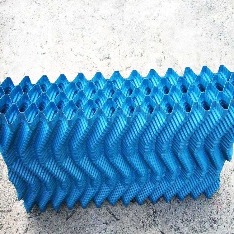 厂家定制 冷却塔填料 横流式冷却塔点波填料 PVC材质耐高温全新料