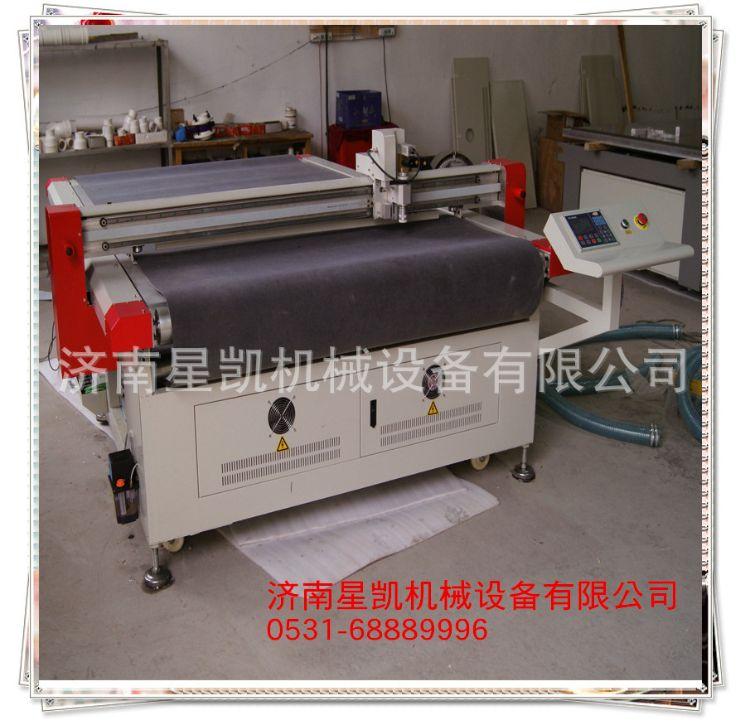振动刀切割机 济南振动刀切割机生产厂家 脚垫震动切割机XK1625