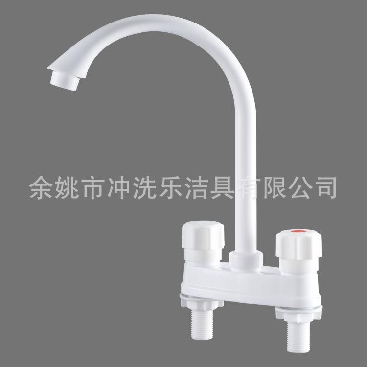 塑料ABS+POM塑鋼冷熱水龍頭 廚房水龍頭