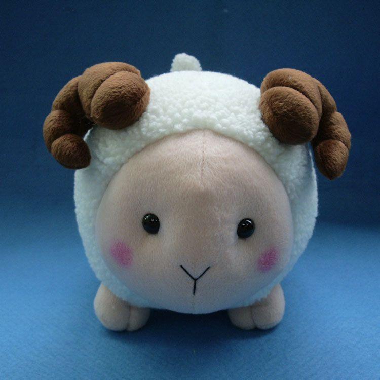 儿童卡通玩具 小羊公仔毛绒玩具羊娃娃 生日礼物 厂家定制