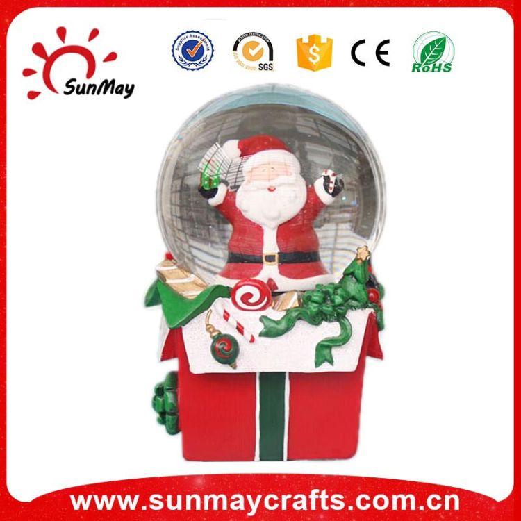厂家直销批发各类高档水晶玻璃雪球玻璃水球创意家居摆件水晶球
