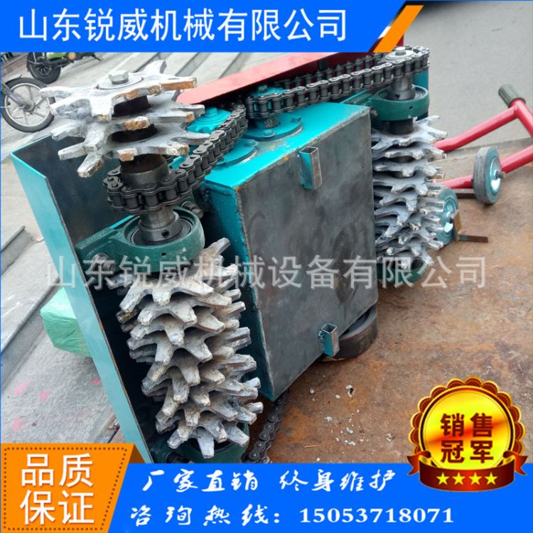 手推式电动路面清灰机地面清渣机4KW铜线电机路面机械厂家