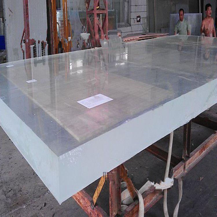 厂家定制特厚亚克力板亚格力透明板 超厚PMMA黑色亚克力 可零切