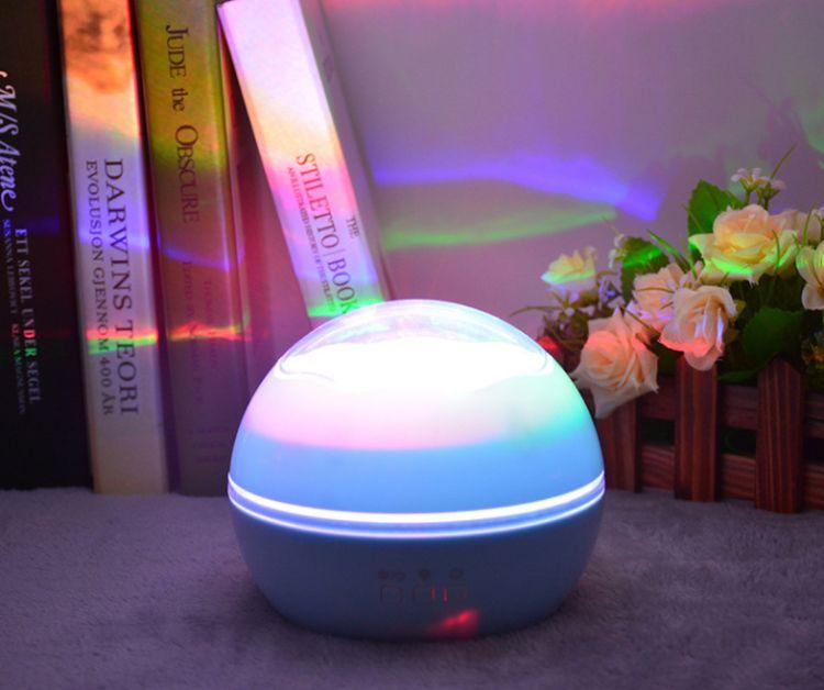 新款圣诞海洋投影灯  小球星空投影灯  浪漫LED宝宝卧室投影灯