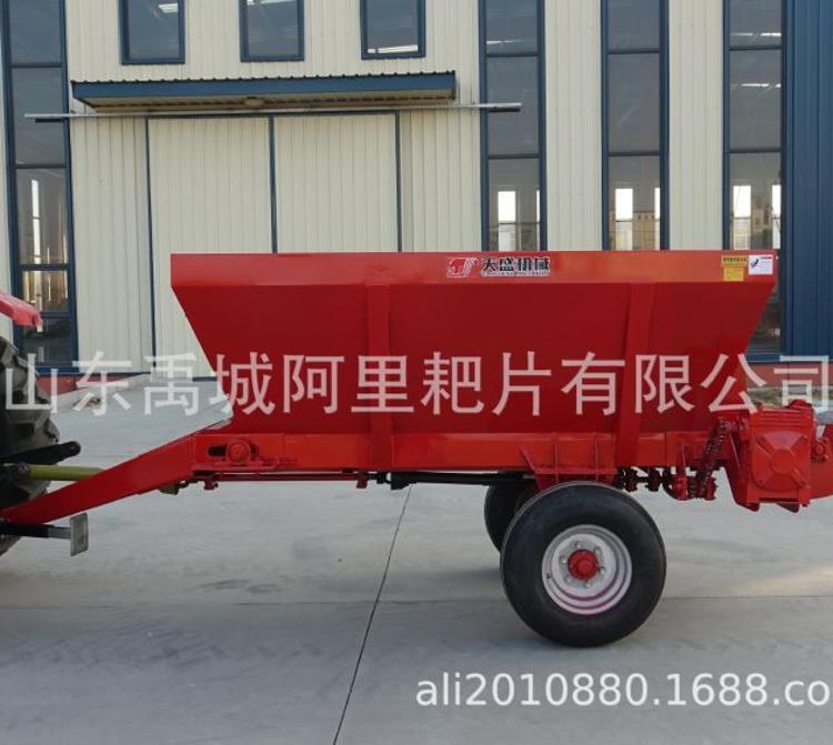 鲜粪撒粪车 土杂肥农家肥  有机肥撒肥机  施肥机  8方抛粪机