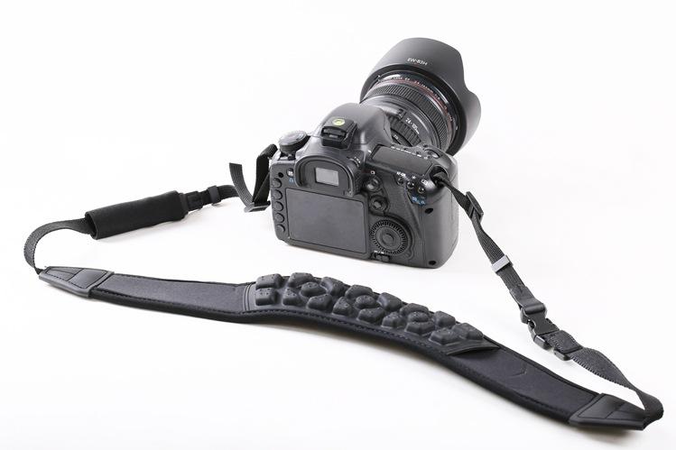 背包客LC-066 多功能减压单反相机肩带适用各牌相机按摩背带批发