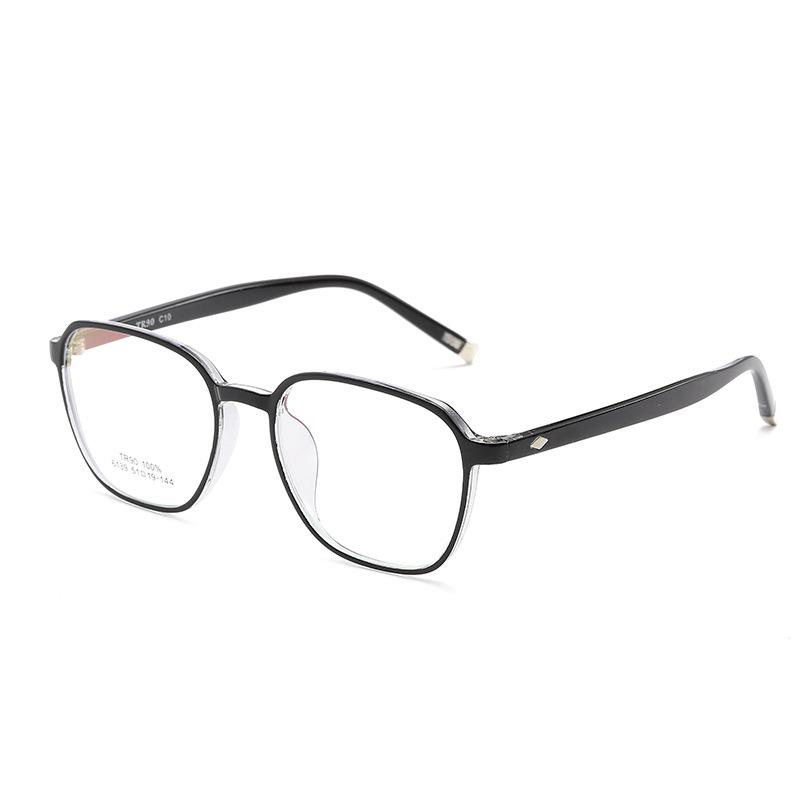 新款时尚韩版TR90眼镜框 舒适全框架眼镜架 男女款近视眼镜框6139