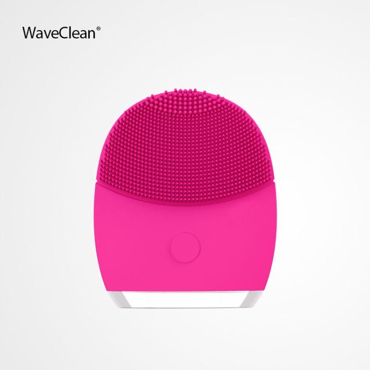 WaveClean 浣清 硅胶声波电动洁面仪 洁面刷 洗脸刷 洗脸神器
