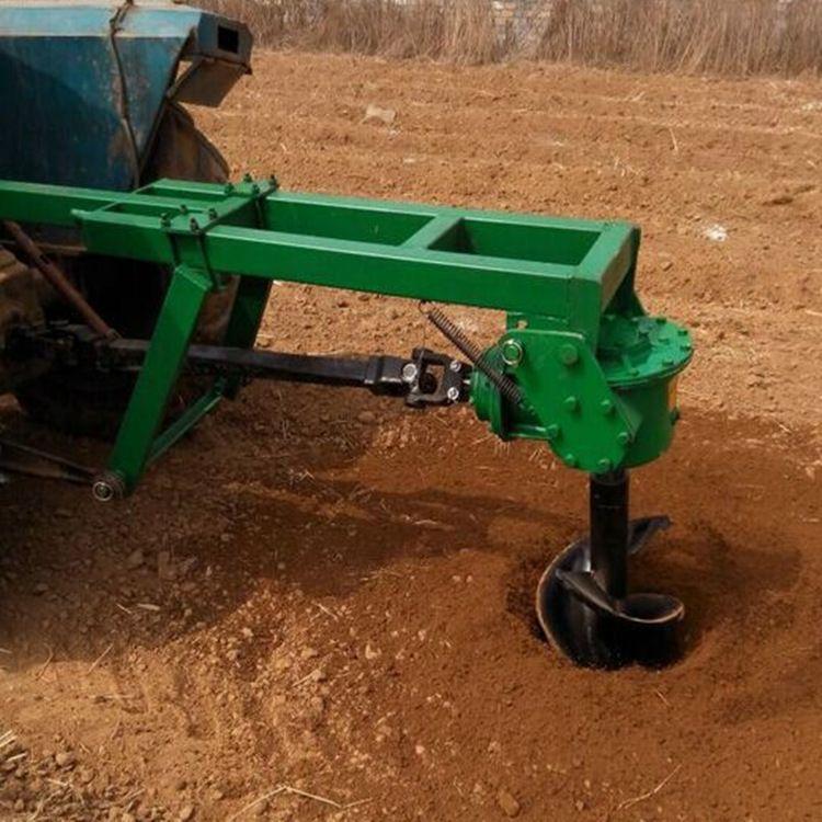 拖拉机挖坑机悬挂挖穴机地钻 种植树木挖坑机撒粪机厂家可定制