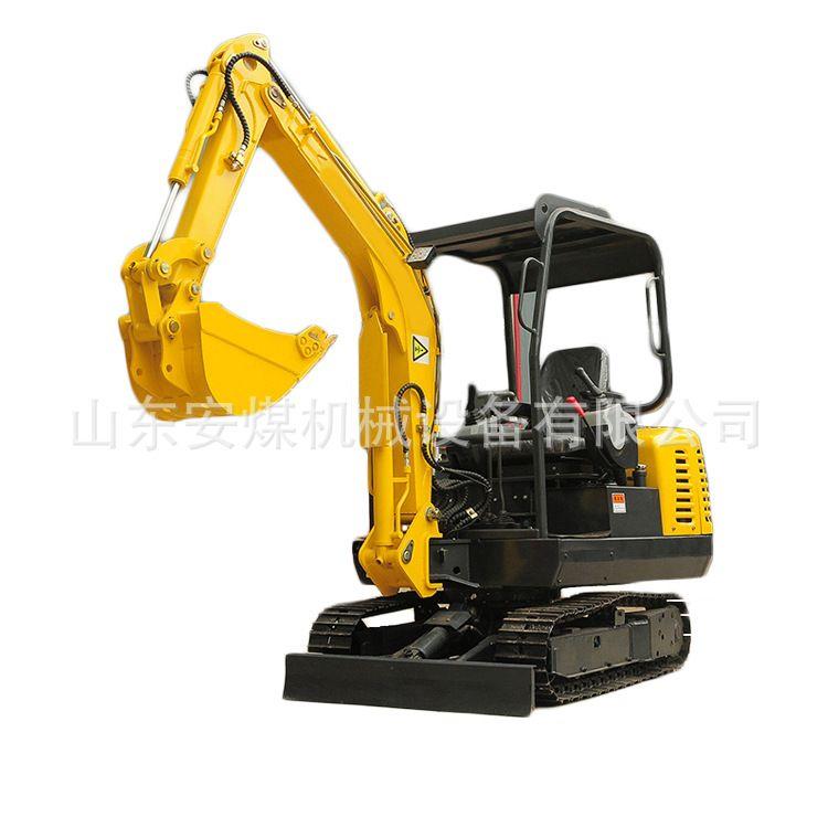 小型挖掘机 柴油液压挖掘机型号价格 带棚挖掘机配件