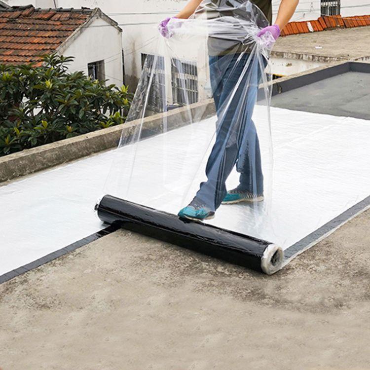 自粘卷材 湿铺自粘防水卷材 自粘聚合物改性沥青防水卷材屋面补漏