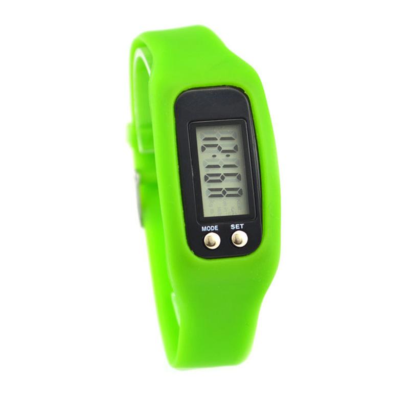 工厂现货 便宜礼品运动手环 欧美韩硅胶电子计步器智能手表手环