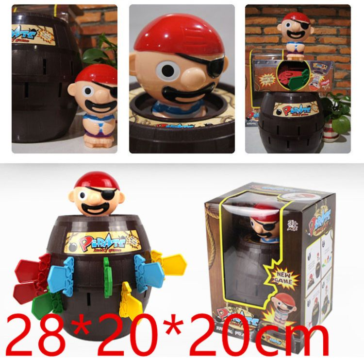 特大超大号海盗桶玩具整蛊海盗桶插剑桌游亲子成人创意玩具