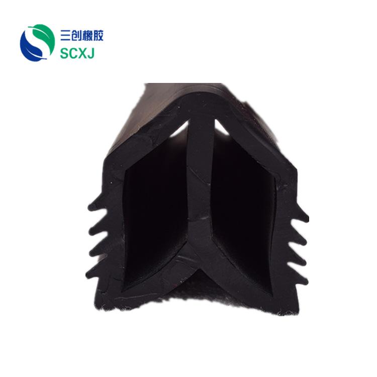 专业生产丁腈橡胶条 耐油橡胶密封条 机械设备耐油橡胶条加工定制