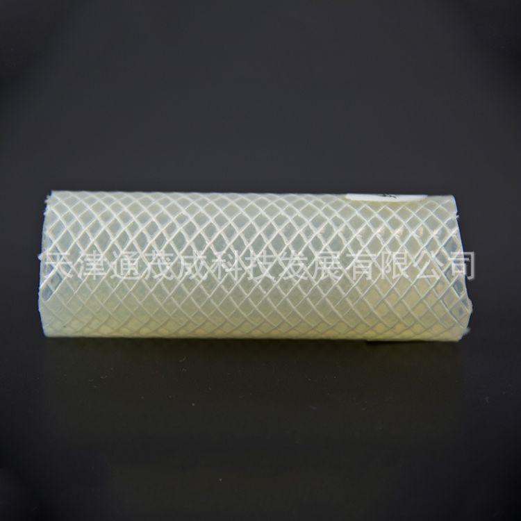 加强编织硅胶管  硅胶纤维编织管 大口径编织硅胶管定做