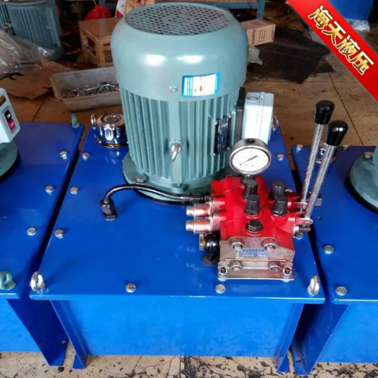 厂家直销超高压双油口液压电动泵高质量可定制大流量齿轮电动油泵
