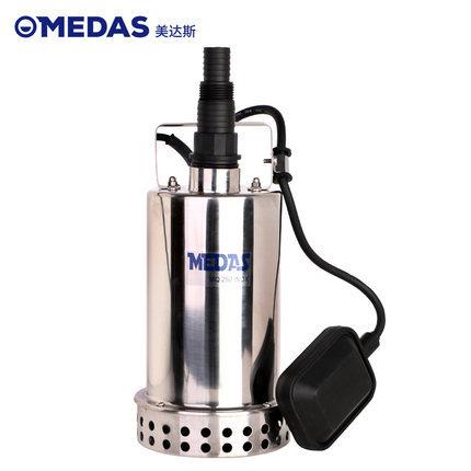 美达斯 不锈钢潜水泵小型家用 抽水泵排污水泵农用灌溉水泵220V