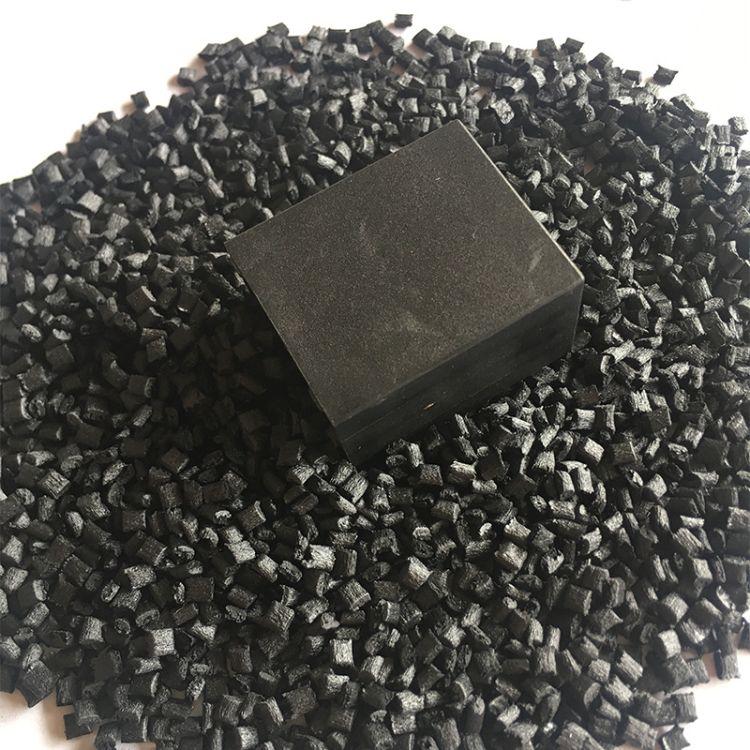改性再生黑色PPS r-7耐高温注塑级电子产品元件塑胶颗粒料pps原料