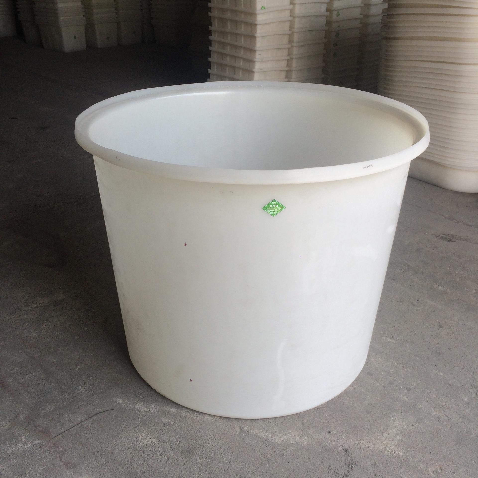 200升食品pe牛筋塑料圆桶 200l圆形泡菜腌制水产养殖敞口大桶