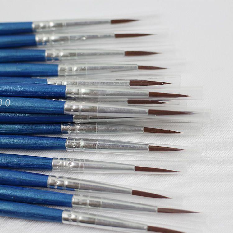 勾线笔尼龙工业线笔数字油画笔绘画漫画创作描边笔美甲供应批发