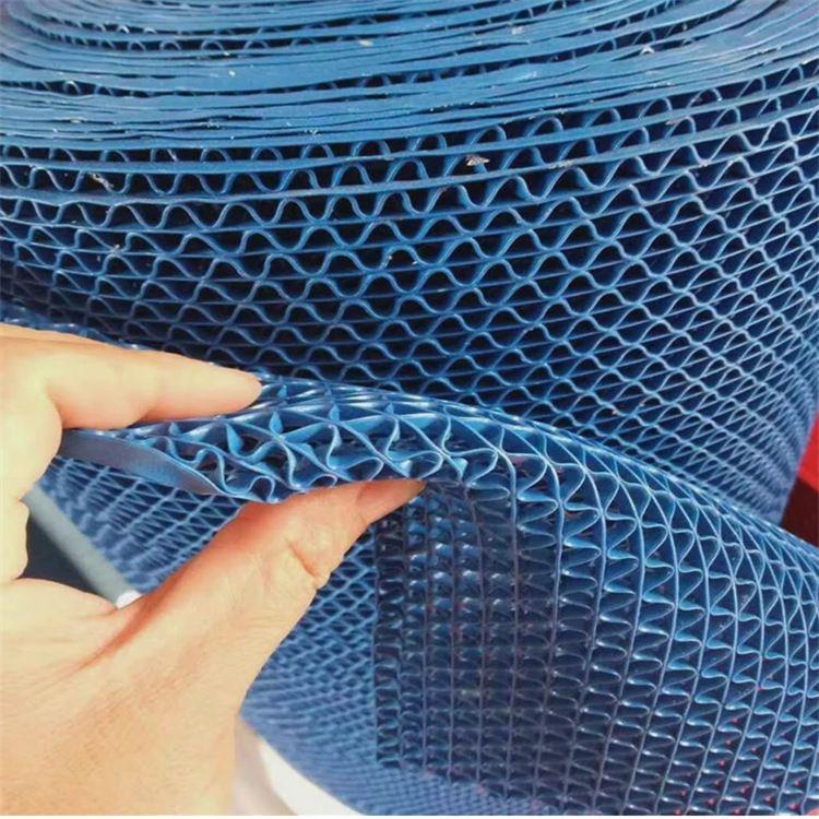 s型pvc镂空防滑垫 酒店大厅防水垫网格塑料 浴室泳池厨房地垫整卷