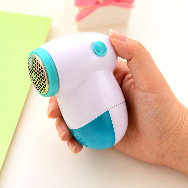 工厂批发 家居电池电动毛衣剃毛器 塑料去毛器剃毛机 毛球修剪器
