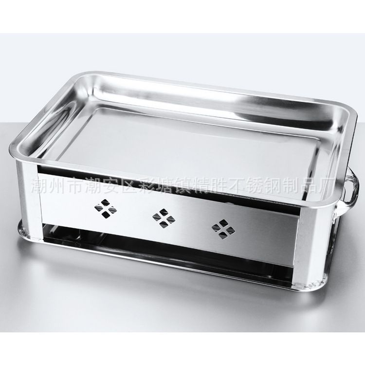 烤鱼炉 不锈钢烤鱼炉 通风木炭烤炉诸葛烤鱼炉加厚长方形烤鱼炉