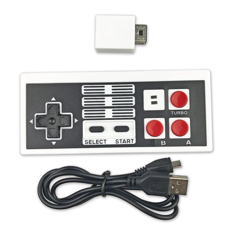 任天堂 NES无线手柄 nes mini无线手柄 wii接口带包装接收器
