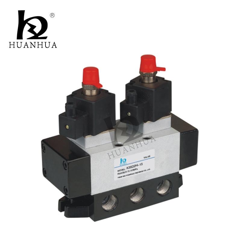 供应 柱式电磁阀 经久耐用K35D2-20 三位五通电磁换向阀 质量保证