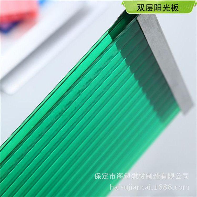 质保十年阳光板, PC中空板,聚碳酸酯,中空阳光板厂家新品