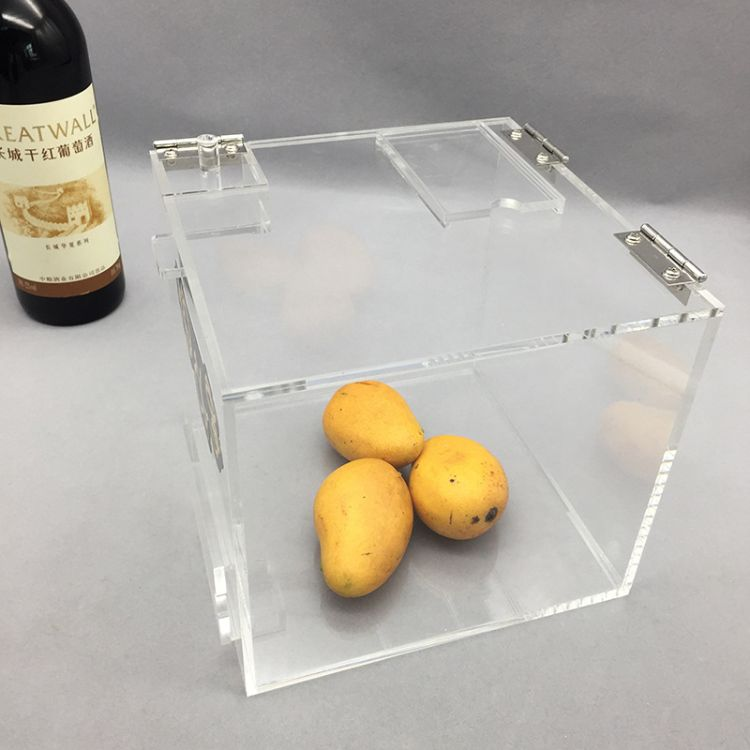 商场亚克力食品收纳盒 干货盒有机玻璃盒子 塑料亚克力糖果展示盒